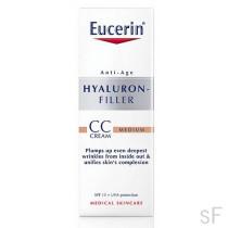 Eucerín Hyaluron-Filler CC Cream Tono Medio 50 ml