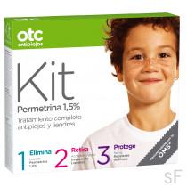 OTC Kit Antipiojos Loción+Acondicionador+Repelente