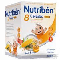 Nutriben 8 Cereales con Miel y Fibra
