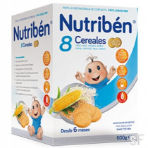 Nutriben 8 Cereales Galleta María
