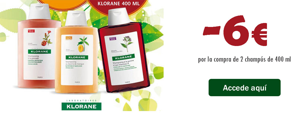 Champu Klorane 400 ml