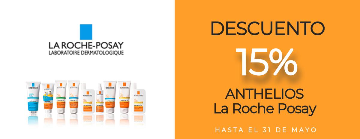 LA ROCHE POSAY / Anthelios Descuento 15%
