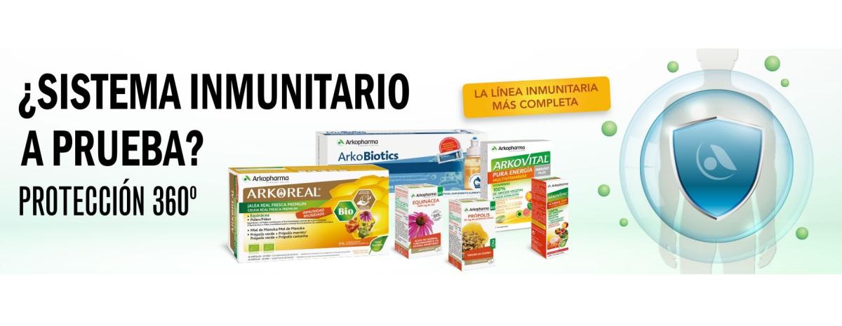 ARKOPHARMA / Sistema inmunitario