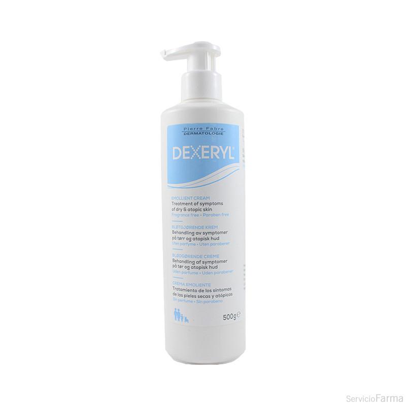 Dexeryl Crema Emoliente Piel Seca 500 ml