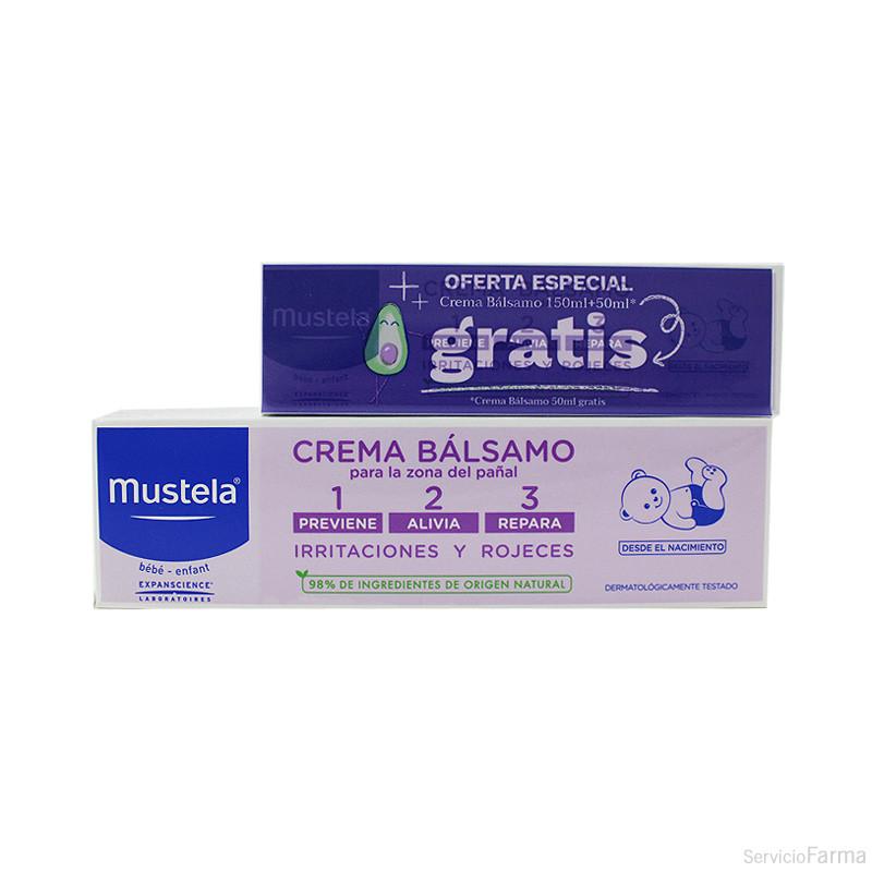 Mustela Crema bálsamo pañal 150 ml + regalo