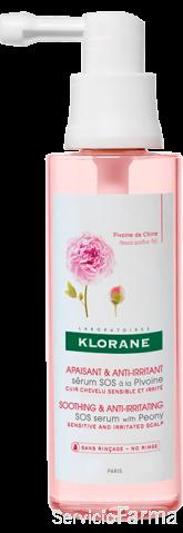 Calmante y Antiirritante / Sérum SOS con Peonía - Klorane (65 ml)