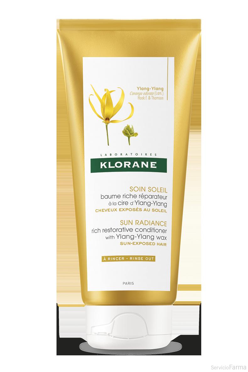 Cuidado y Sol Bálsamo reparador a la cera de Ylang-Ylang - Klorane (200 ml)