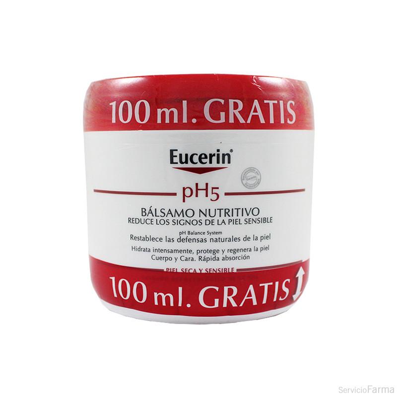 Eucerin pH5 Bálsamo nutritivo Piel seca 450 ml + GRATIS 100 ml