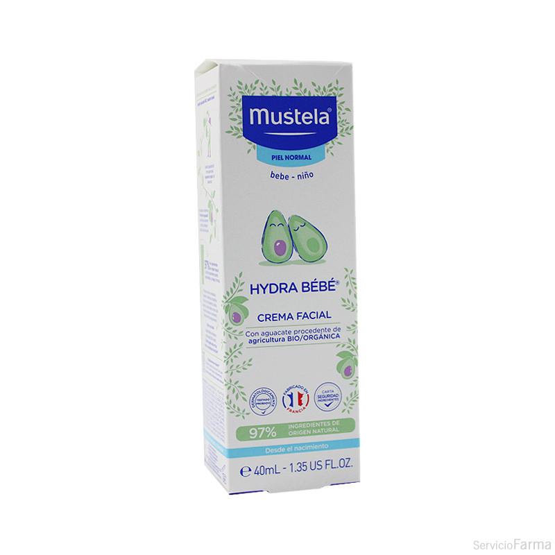 Mustela Hydra Bebé Crema facial 40 ml