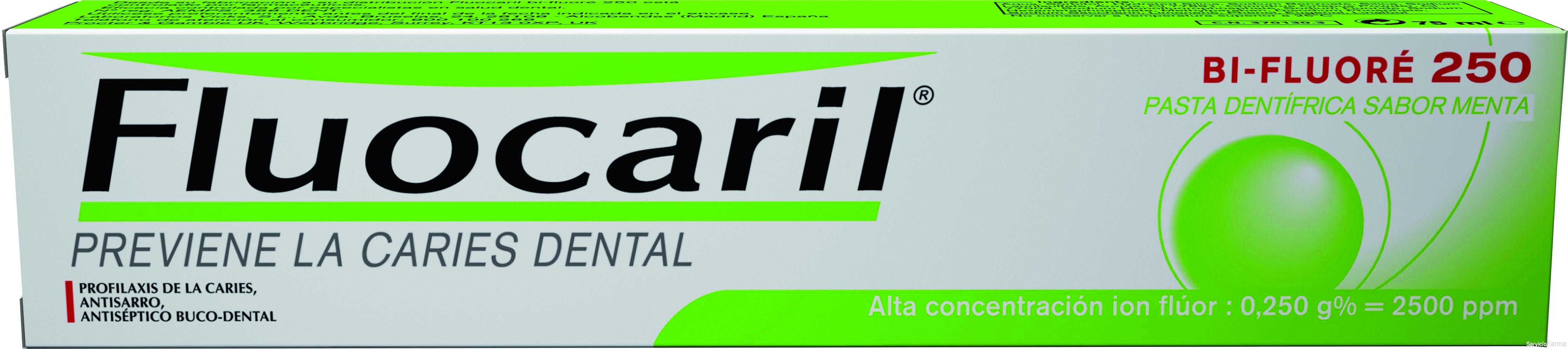 Fluocaril Pasta Dentífrica Sabor Menta 125 ml