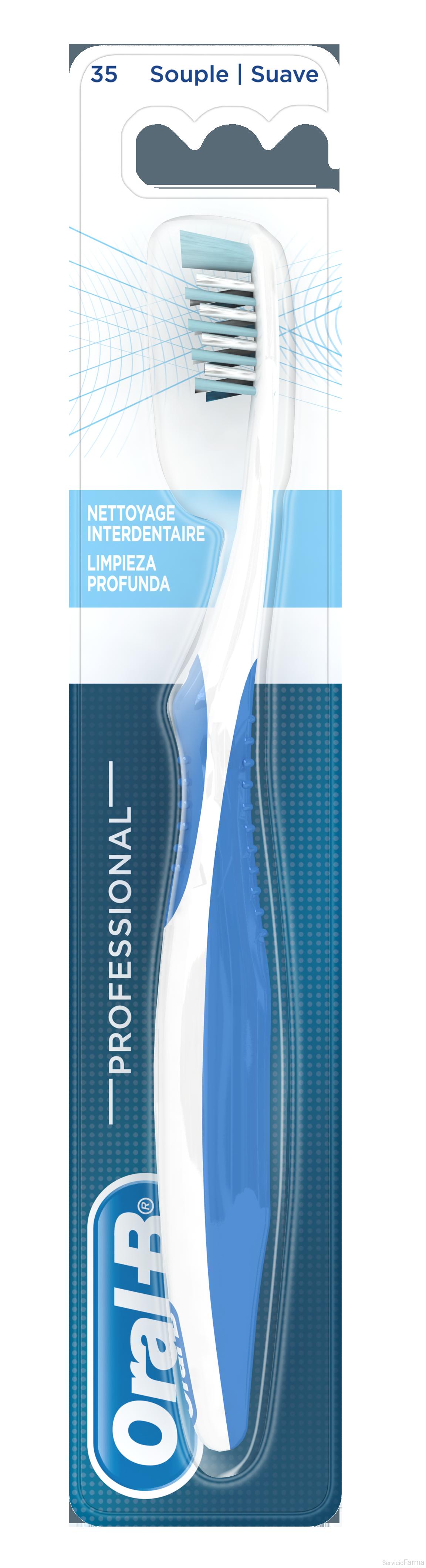 Oral B Professional Cepillo Limpieza Profunda Suave