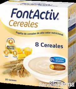 FontActiv Cereales / 8 Cereales (20 raciones)