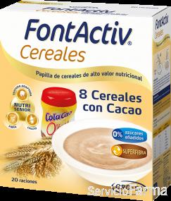 FontActiv Cereales / 8 Cereales con Cacao (20 raciones)