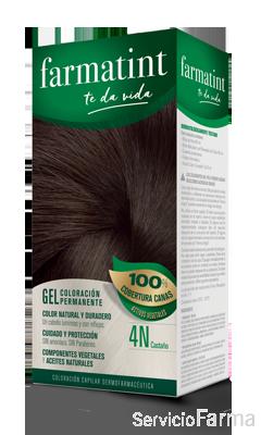 Farmatint 4N Castaño Gel (150 ml)