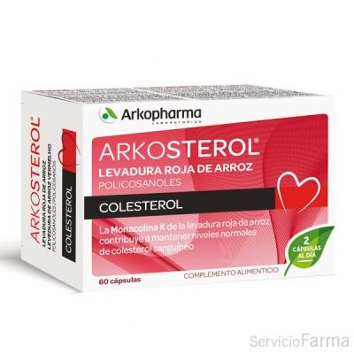 Arkosterol Levadura roja de arroz 60 cápsulas Arkopharma
