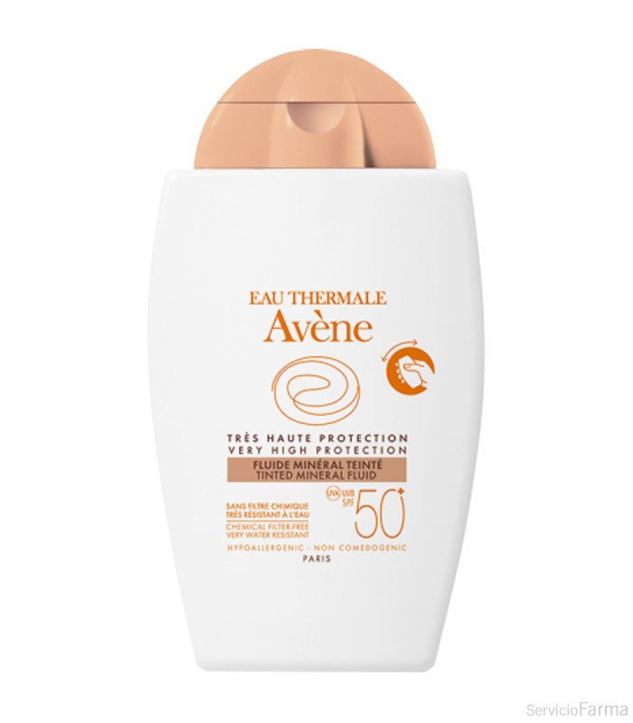 Avene Fluido Mineral Color SPF50+ 40 ml