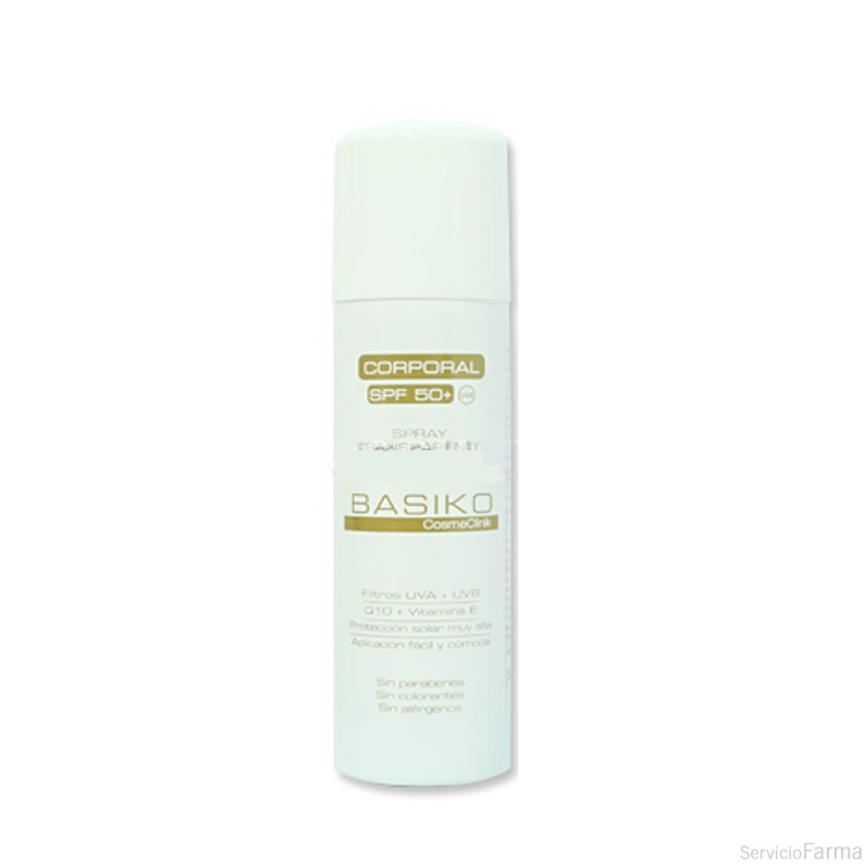 Basiko Corporal SPF 50+ Spray 200 ml.