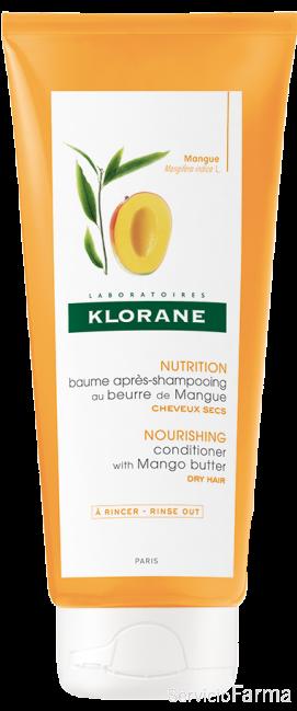 Klorane Bálsamo Manteca de mango Cabellos secos 200 ml