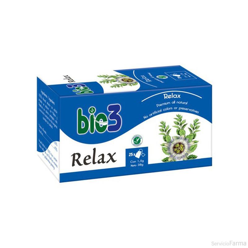 Bio3 Relax Infusión 25 uds