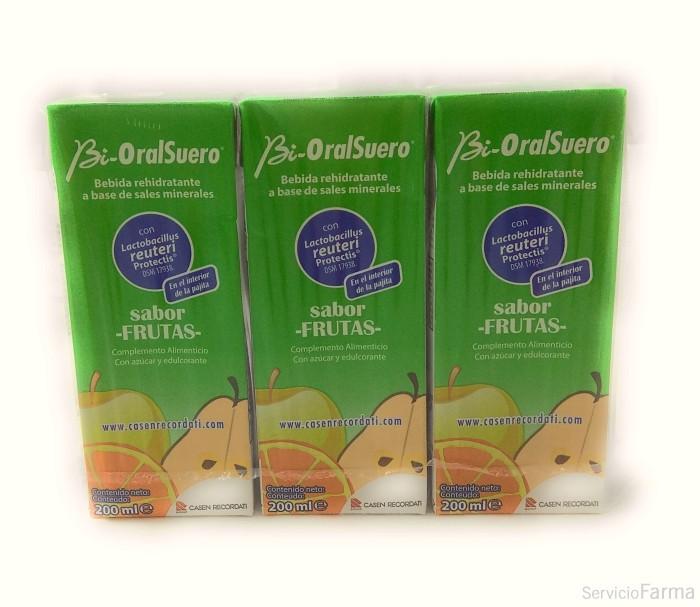 BiOralSuero Bebida con probióticos Frutas