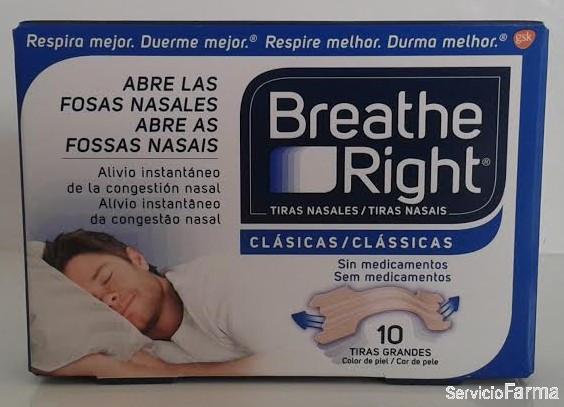 Breath Right Clásicas 10 uds