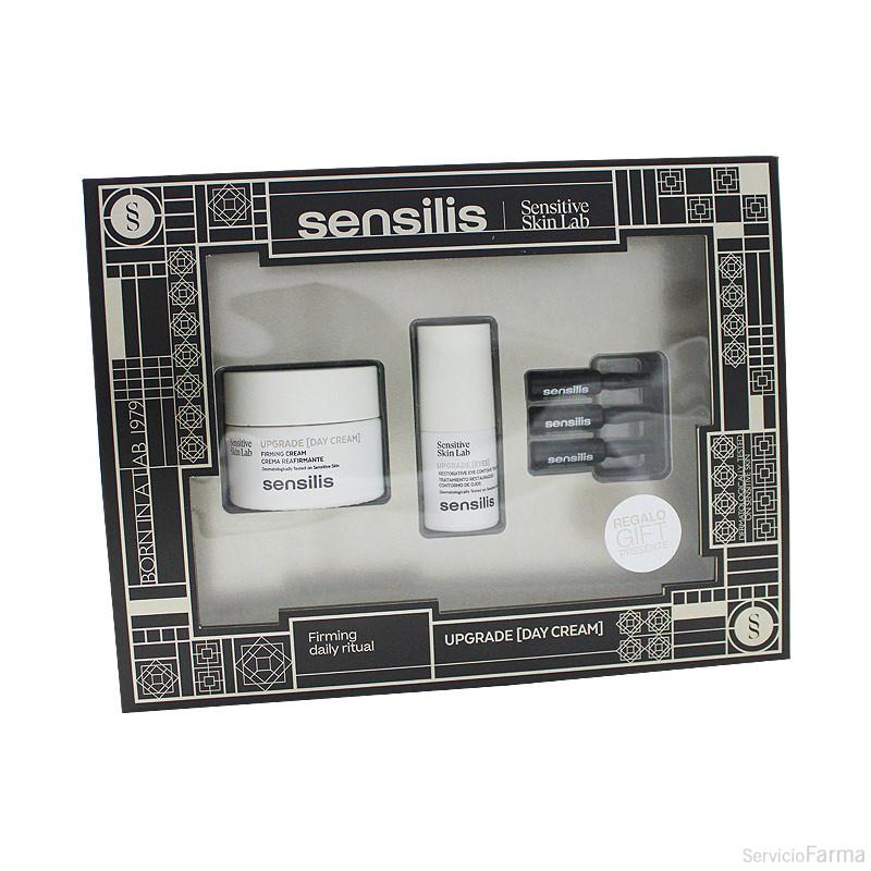 Sensilis Upgrade Crema Día 50 ml + REGALO Upgrade Ojos + REGALO Upgrade Ampollas