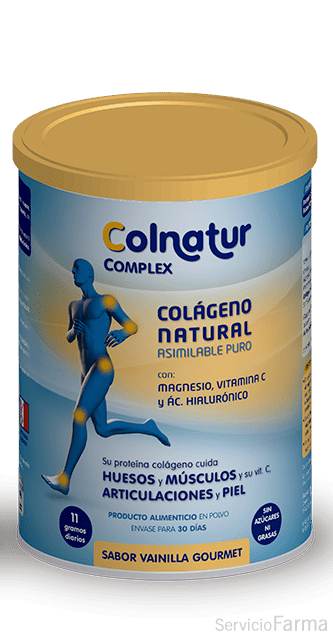 Colnatur Complex Colágeno enriquecido Vainilla gourmet