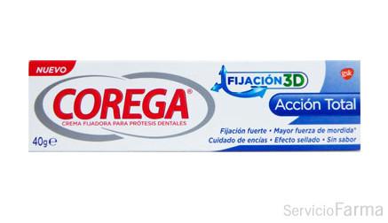 Corega Acción total crema fijadora 40 g