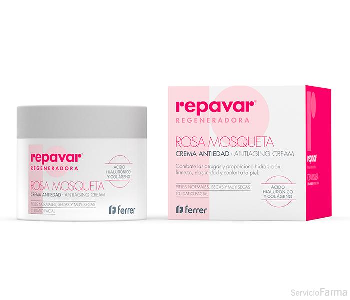 Repavar Rosa mosqueta Crema antiedad Regeneradora 50 ml