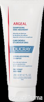 Ducray Argeal Champú Sebo-absorbente
