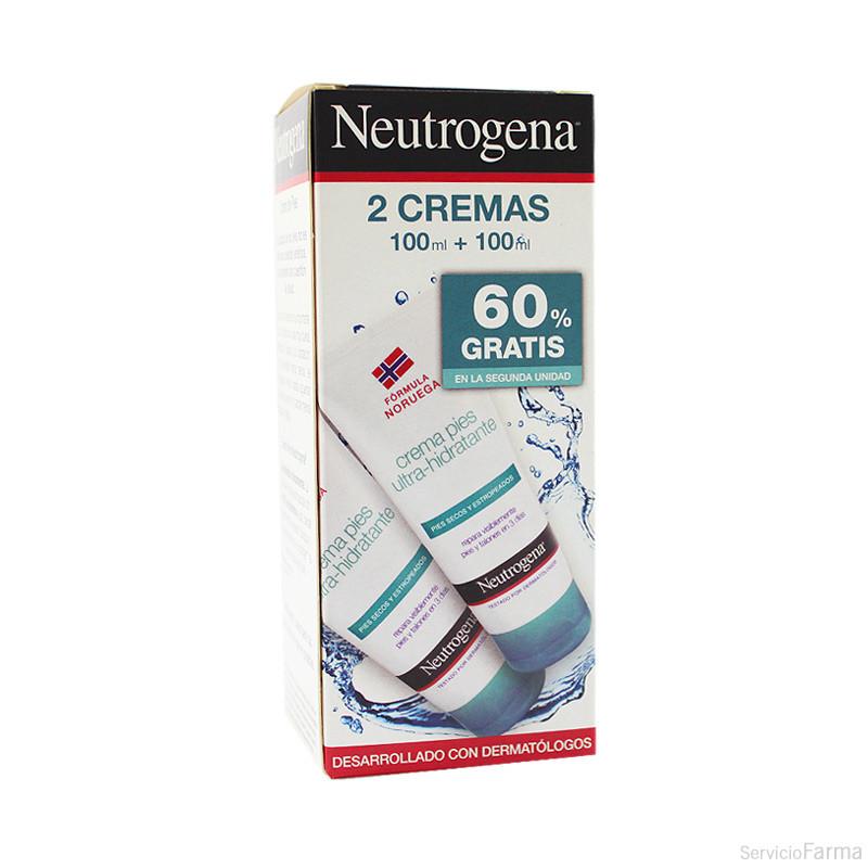 Duplo Neutrogena Crema Pies Ultra Hidratante 2 x 100 ml