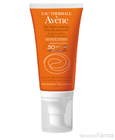 Avene Emulsion Coloreada SPF 50+ 50 ml