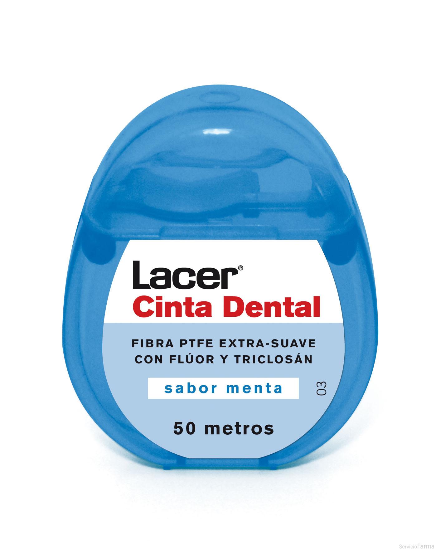 Lacer Cinta Dental Sabor Menta 50 m