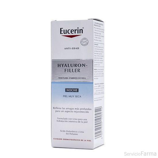 Eucerin Hyaluron-Filler Textura Enriquecida Noche 50 ml