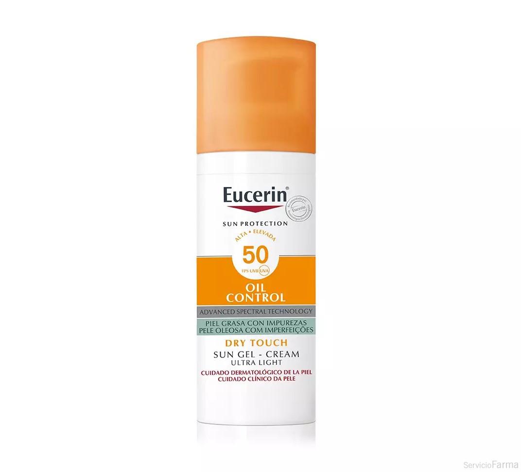 Eucerin Sun Gel-Crema Oil Control SPF50+