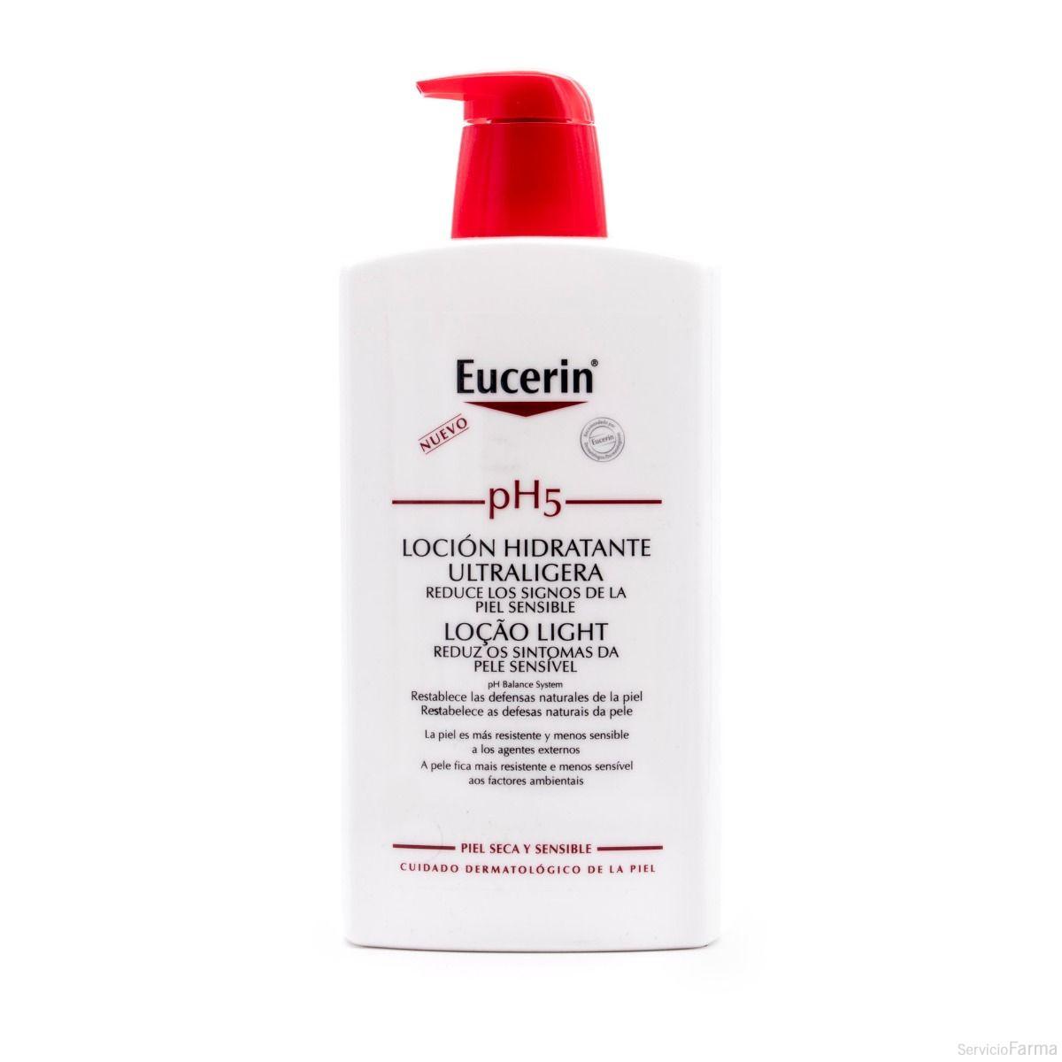 Eucerin Loción Hidratante Ultraligera pH5 1000 ml