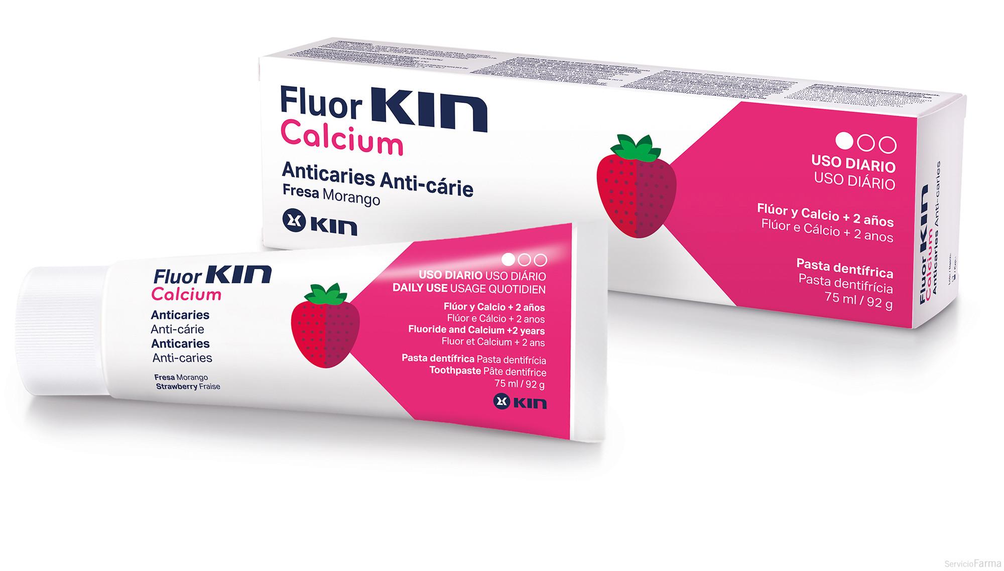 FluorKin Calcium Pasta Dentífrica