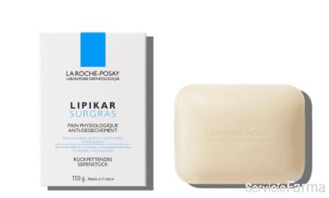 Lipikar  Surgras Jabón antidesecamiento La Roche Posay 150 g