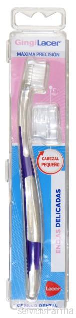 GingiLacer Cepillo Dental Encías Delicadas Cabezal pequeño 1 unidad