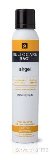 Heliocare 360º SPF50 Airgel Corporal 200 ml