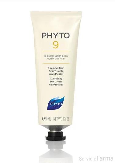 Phyto 9 Crema de día Nutrición y Brillo