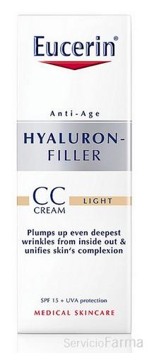 Eucerín Hyaluron-Filler CC Cream Tono Claro 50 ml