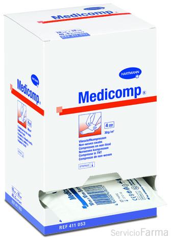 Hartmann Medicomp 50 Compresas 10cm x 10cm