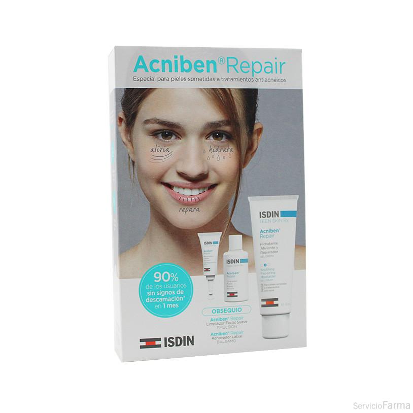 Isdin Acniben Repair Gel-crema Hidratante aliviante 40 ml + MUESTRAS