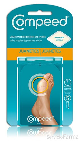 Compeed Juanetes Tamaño Mediano (5 uds)
