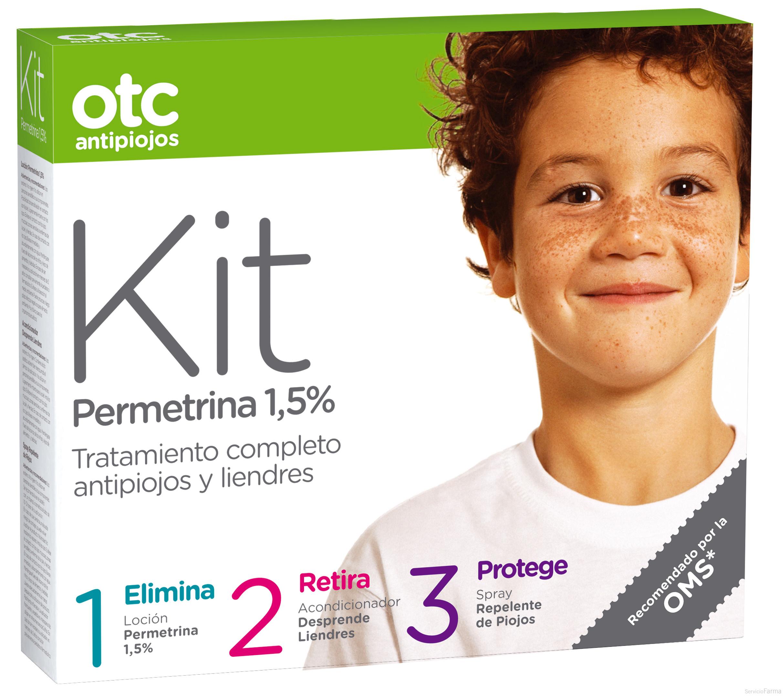 OTC Kit Antipiojos Loción+Acondicionador+Repelen