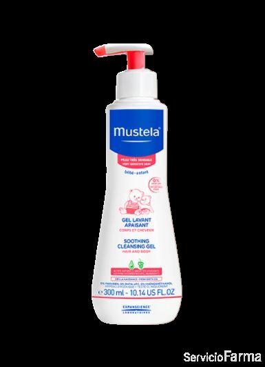 Mustela Gel de Baño Confort Piel muy sensible 300 ml