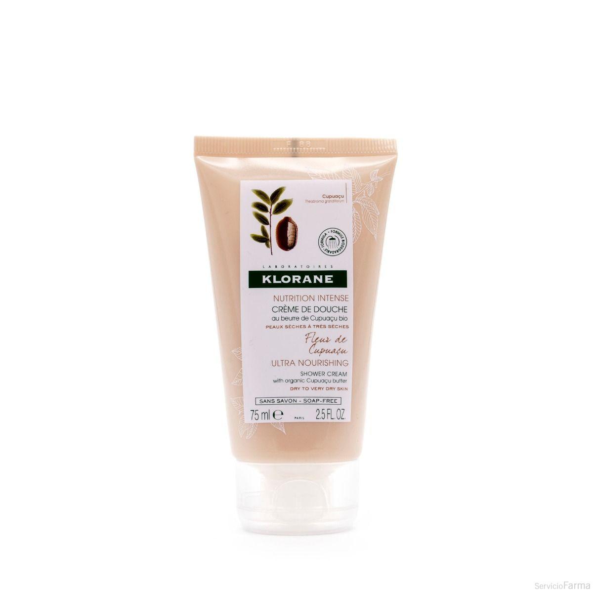 comprar Crema de ducha con Manteca de Cupuaçu Bio - Klorane (75 ml)