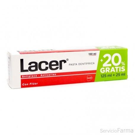 Lacer Pasta dentífrica con flúor 150 ml