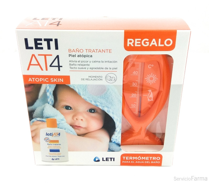 Leti AT4 Baño Tratante 200 ml + REGALO Termómetro